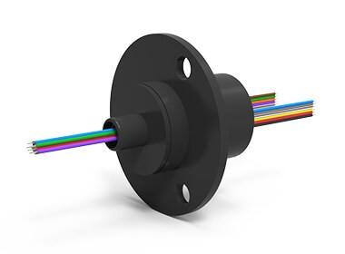 ES12 (AC6023-12), 12-Circuit Slip Ring, Compact Capsule, under 50 Mbps