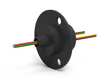 ES6 (AC6023-6), 6-Circuit Slip Ring, Compact Capsule, under 50 Mbps