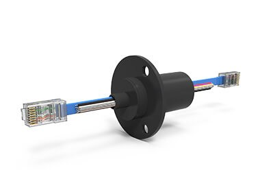 ESE2124 (AC7203-24V), 18-Circuit Slip Ring, Compact Capsule, 100 Mbps