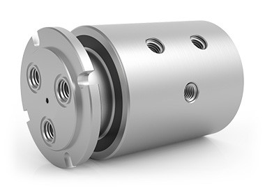 "GPS-430, 3-Passage Rotary Union, 1/2""-14 NPT Connections, Stainless Steel"