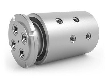 "GPS-440, 4-Passage Rotary Union, 1/2""-14 NPT Connections, Stainless Steel"