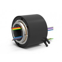 EST12 (AC4598-12), 12-Circuit Slip Ring, Through Bore, under 50 Mbps
