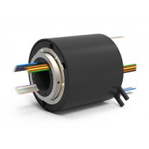 EST18 (AC4598-18), 18-Circuit Slip Ring, Through Bore, under 50 Mbps