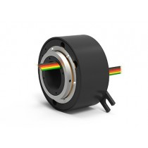 EST6 (AC4598-6), 6-Circuit Slip Ring, Through Bore, under 50 Mbps