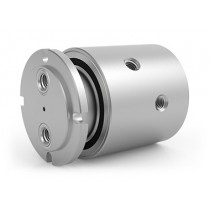 "GPSM-420, 2-Passage Rotary Union, G1/2""-14 BSPP Connections, Stainless Steel"