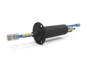 ESE2358 (AC7195-NX), 45-Circuit Ethernet Slip Ring, Compact Capsule, 1 Gbps
